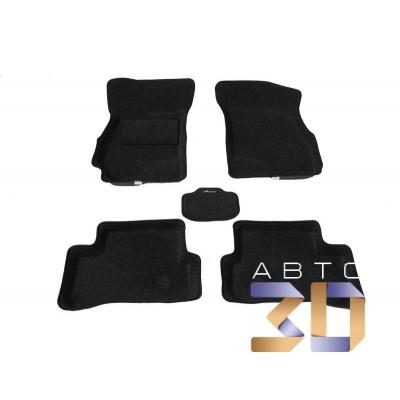 3D коврики Audi Q7 4L 2005-2015 Boratex