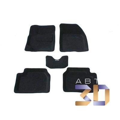Коврики 3D Chevrolet Aveo 2003-2011 в салон кузова T200 Т250 Boratex