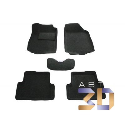 Коврики 3D Chevrolet Aveo 2012, 2013, 2014 в салон кузова T300 Boratex