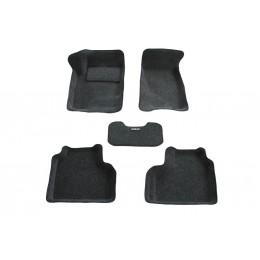 3D коврики Chevrolet Niva рестайлинг 2010 - FAM1 (BRTX-1124) Boratex