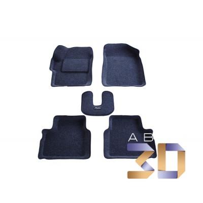 Коврики 3D Daewoo Matiz в салон кузова KLYA Boratex