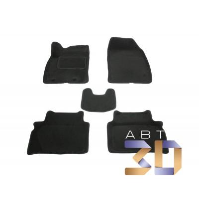 Коврики 3D Ford Ecosport 2012 2013 2014 2015 в салон кузова B515 Boratex