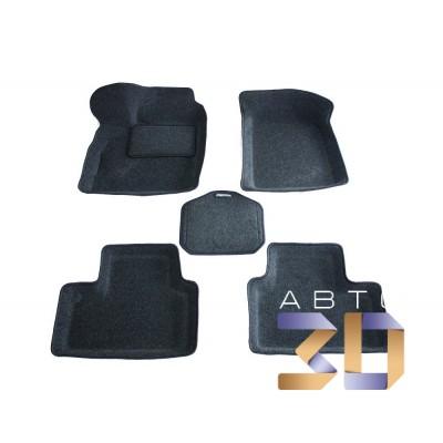 Коврики 3D Lada Priora 2170 в салон кузова Седан Boratex