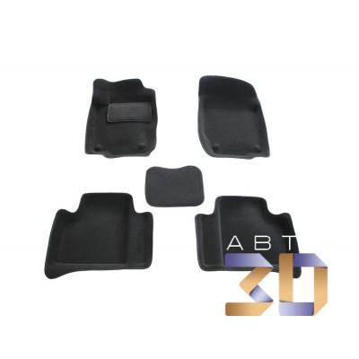 Коврики 3D Mercedes benz ML 2 2005-2011 в салон кузова W164 Boratex