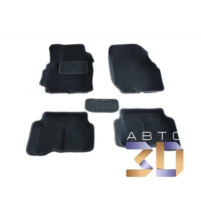 Коврики 3D Nissan Almera Classic 2005-2013 в салон кузова B10 Boratex