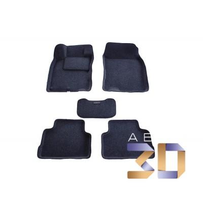 Коврики 3D Nissan Qashqai 2013 2014 в салон кузова J11 Boratex