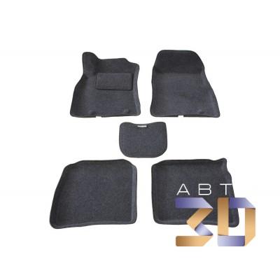 Коврики 3D Nissan Sentra 2014 2015 2016 в салон кузова B17 Boratex