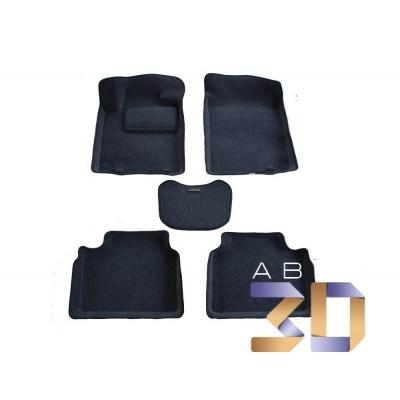 Коврики 3D Nissan Teana 2014-2018 в салон кузова L33 Boratex