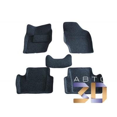 Коврики 3D Peugeot 308 2010, 2011, 2012, 2013 в салон кузова 4A Boratex