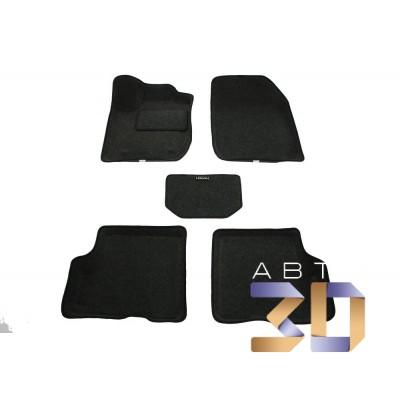 Коврики 3D Renault Logan 2014, 2015, 2016, 2017, 2018 в салон кузова L8 Boratex