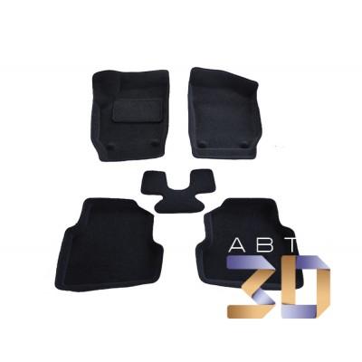 Коврики 3D Skoda Fabia 2007-2013 в салон кузова 5J2, 5J5 Boratex