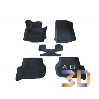 Коврики 3D Skoda Octavia 2013-2018 в салон кузова A7 Boratex