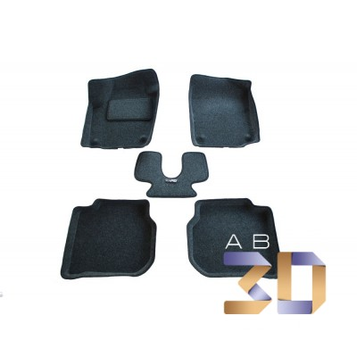 Коврики 3D Skoda Rapid 2013-2018 в салон кузова NH3 Boratex