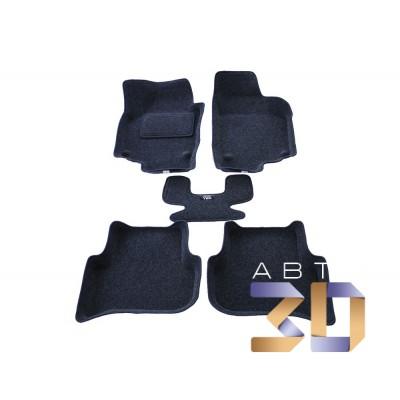 Коврики 3D Skoda Yeti 2009-2013 в салон кузова 5L Boratex