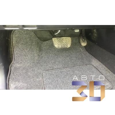 Коврики 3D Toyota Land Cruiser Prado 2017- в салон кузова 150 Boratex