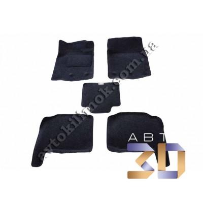3D коврики TOYOTA LC 200 рестайлинг 2012 Boratex