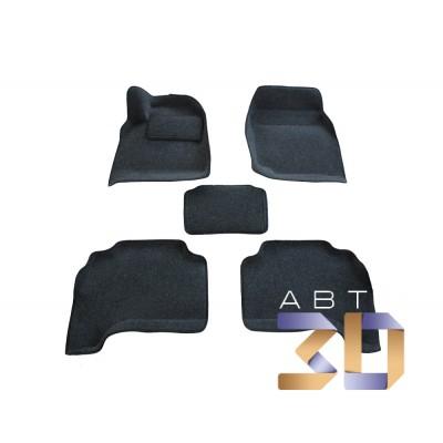 3D коврики TOYOTA LC 100 (АКПП) - 1998 - 2007 (BRTX-1122) Boratex