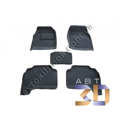 3D коврики TOYOTA LC 100 (МКПП) 1998-2007 (BRTX-1122M)  Boratex