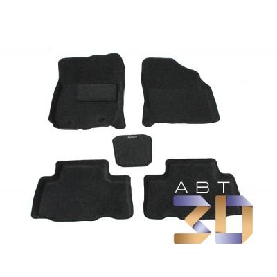 Коврики 3D Toyota Rav 4 2012-2013 в салон кузова XA40 Boratex