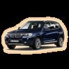 Коврики BMW X3 2011 и выше в салон кузова F25