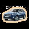 Коврики Hyundai Creta 2016-и выше в салон кузова GC