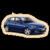 Коврики Mazda 3 2003-2009 в салон кузова BK
