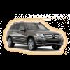 Коврики Mercedes GLK 2009-2015 в салон кузова X204