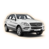 Коврики Mercedes benz МL-Class 2011-и выше в салон кузова W166