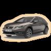 Коврики Seat Leon X-Perience 2013-и выше в салон кузова 5F