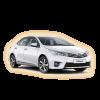 Коврики Toyota Corolla 2013-2018 в салон кузова E170
