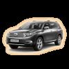 Коврики Toyota Highlander 2014-и выше в салон кузова XU50