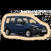 Коврики Volkswagen Golf Caddy в салон кузова 2004-2015